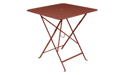 Bistro Tisch Bistro_Table-71x71_Rouge ocre